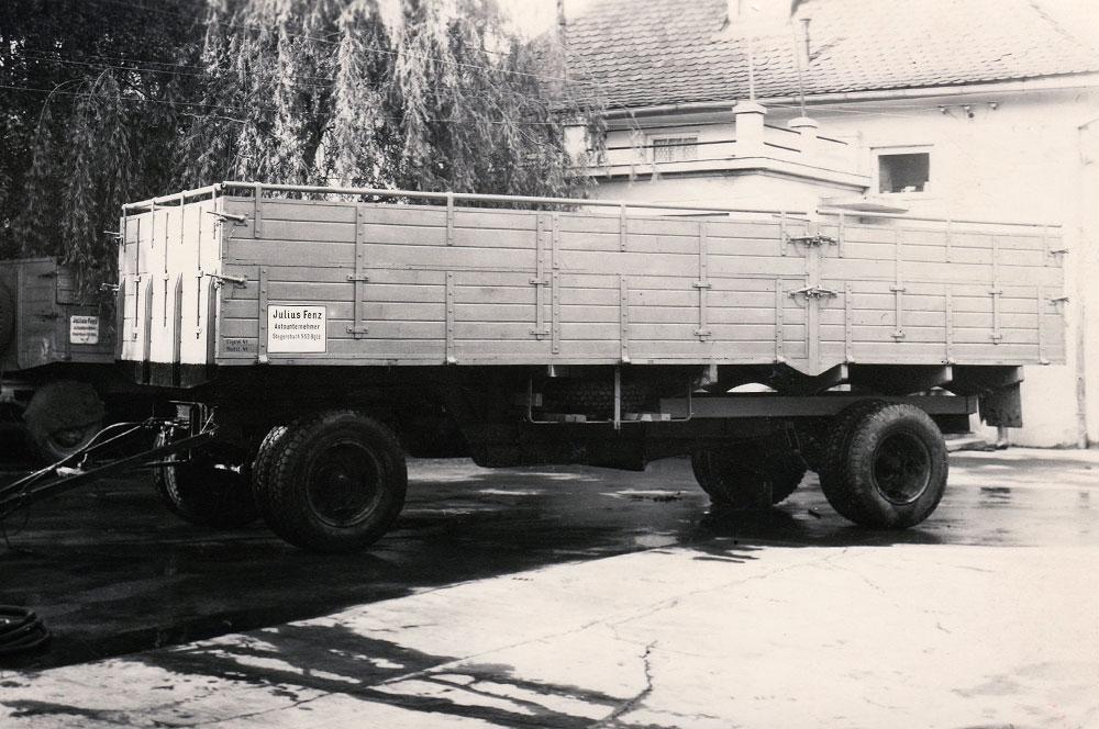 Peischl naczepa lata 40
